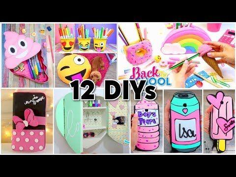 Making 25 Amazing Diy Slimes Squishies Room Decor Organization Compilation Youtube School Diy Diy Crafts To Do Diy Back To School
