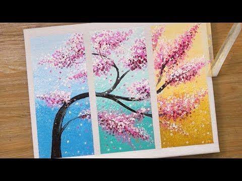Pintura Em 3 Pecas Tecnica De Pintura Em Acrilico 451 Youtube Tecnicas De Pintura Em Acrilico Pinturas De Rosa Tecnicas De Pintura