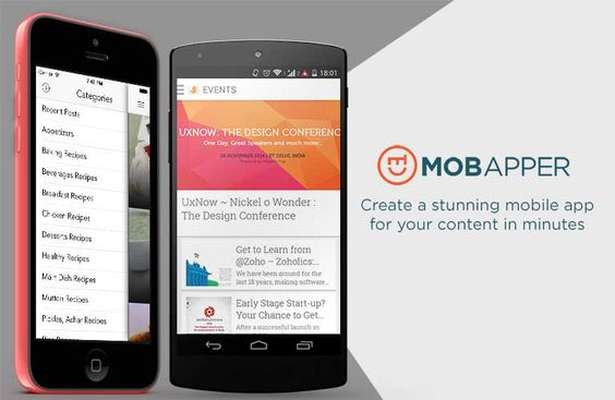 Create a stunning mobile app for your WordPress website in minutes with Mobapper