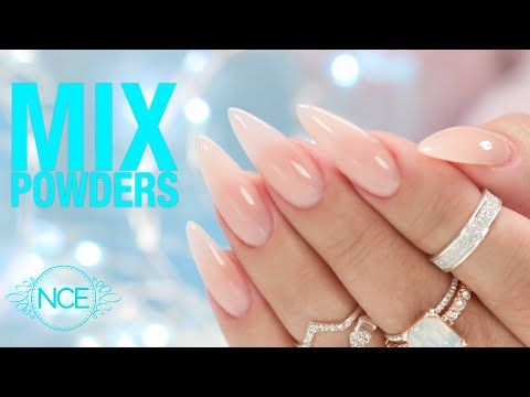 How To Create Natural Looking Acrylic Nails Youtube In 2020 Natural Looking Acrylic Nails Nails Acrylic Nails