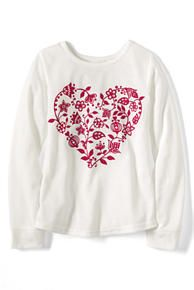 Girls Knit Pajama Top