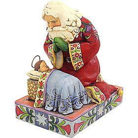 Jim Shore Kneeling Santa I Have This Statue Already It