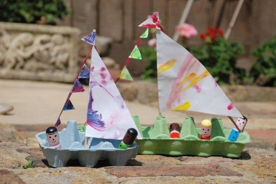 10 DELIGHTFUL BOAT CRAFTS