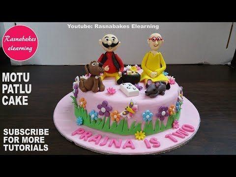 1 Motu Patlu Cartoon Birthday Cake Design Ideas Cake Decorating