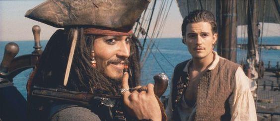 #Pirates  Johnny Depp.  Need I say more?