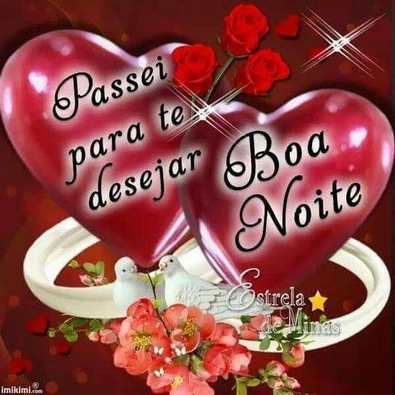 Durma feliz com o coração cheio de amor boa noite! Mensagens e Imagens de Boa noite.