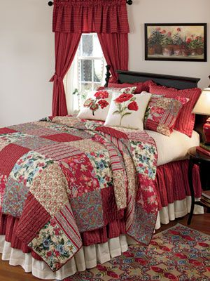Gypsy Quilt and Curtains Collection - Country Curtains | reference ...