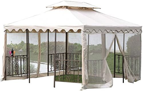 Buy Garden Winds 12 X 12 Scalloped Gazebo Replacement Canopy Top Cover Online Pptoplike In 2020 Outdoor Porch Furniture Vintage Patio Gazebo Replacement Canopy