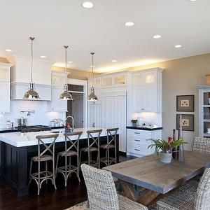 Candlelight Homes Kitchens White Kitchen Cabinets