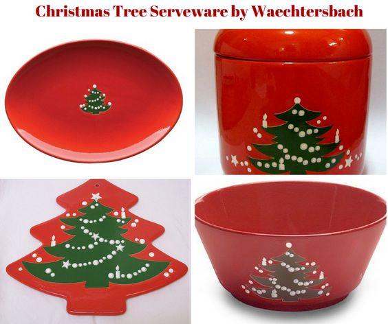 Christmas Tree Serveware by Waechtersbach