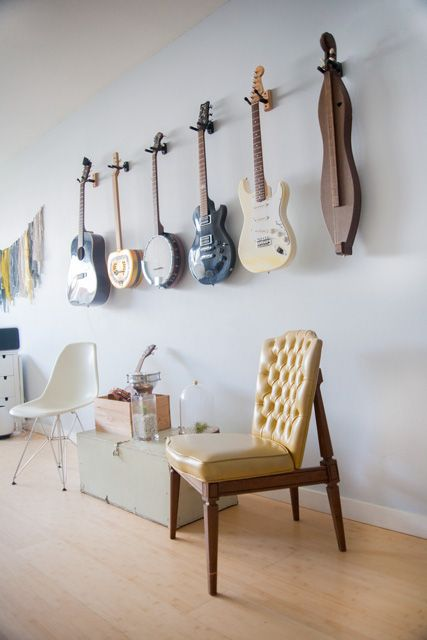 Our Guitar / Stringed Instrument Wall Gallery