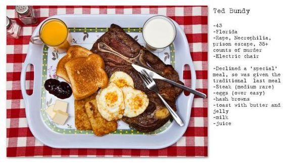 This Is What 12 Death Row Inmates Chose For Their Last Meals
