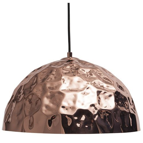 Meelano 1 Light Bowl Pendant