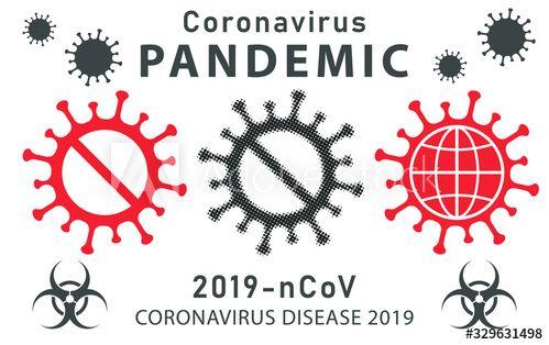 Corona Virus Covid 19 Logo - DOKUMEN PAUD TK SD SMP