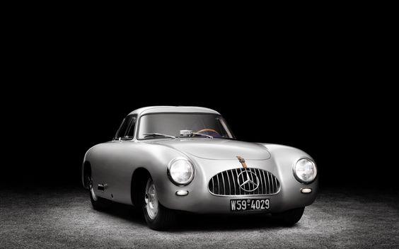 Mercedes Benz 300 SL 1952 Best Wallpaper ~ Auto Cars