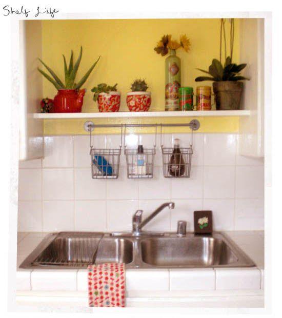 Kitchen sink organzation