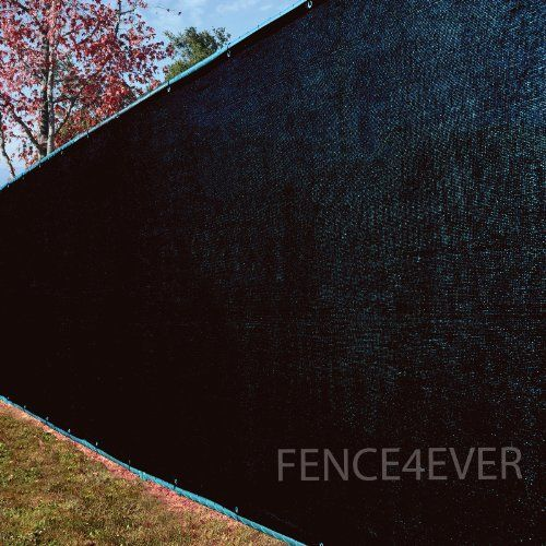 Black fence mesh fabric and privacy screens on pinterest for Cloth privacy screen