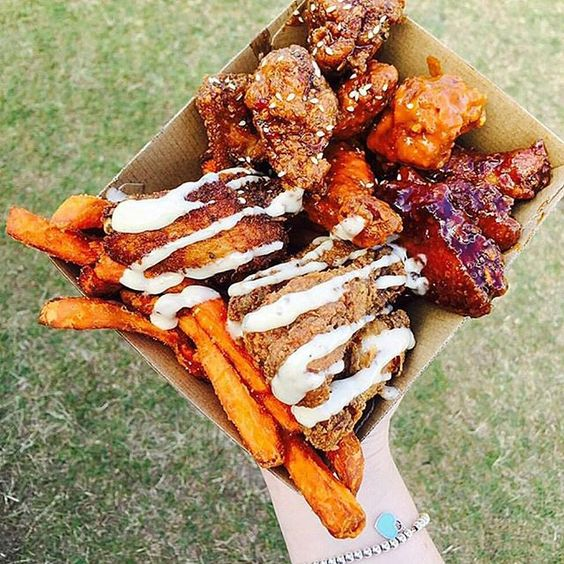 King of the Wings knows the way to our heart  Whose looking forward to the next #FoodTruckRoundUpGC !!!?!?  @wingstigram by foodtruckroundupgc