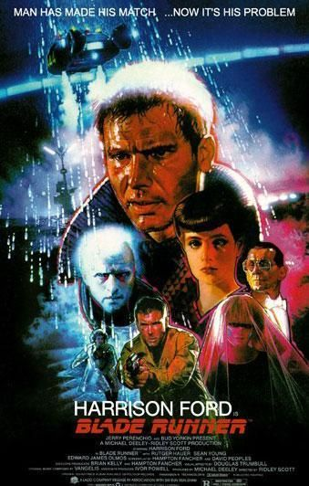 This Drew Struzan variation was on the cover of the book Do Androids Dream of Electric Sheep, issued at the time of the movie. Interesting, but not as mind-blowing as John Alvin one sheet.