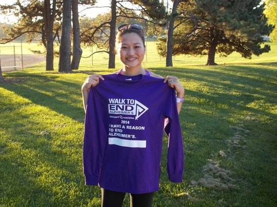 Member Service Rep at our downtown branch, Nicole, participated in the 2014 Walk to End Alzheimer's as part of her Miracle Marathon journey to fundraise for Children's Hospital Colorado