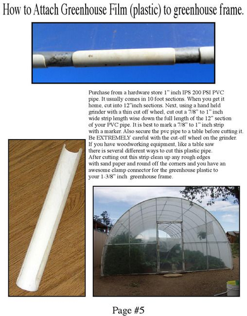 Polycarbonate Tubing Home Depot : polycarbonate, tubing, depot, Greenhouse, Fitting, Purlin), 1-3/8