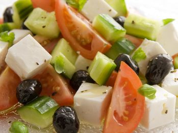 Greek Tomato and Feta Salad