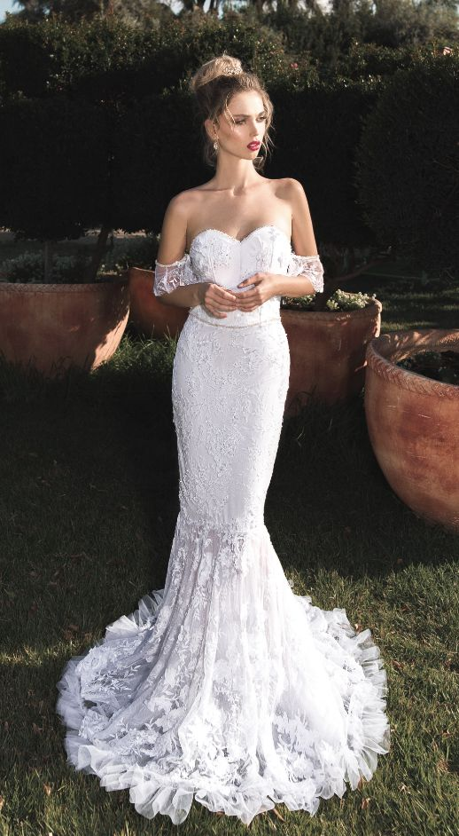 Romantic Yasmin Varsano Wedding Dresses with Feminine Details