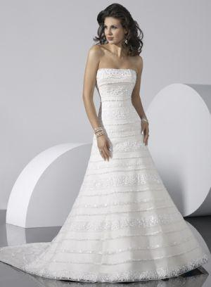horizontal lace wedding dress - Google Search
