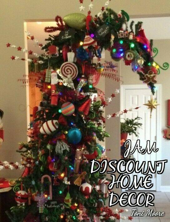 Bendable Top Alpine 10 Ft Christmas Tree Kids Fun Candy Christmas Tree Christmas Decorations Whoville Christmas