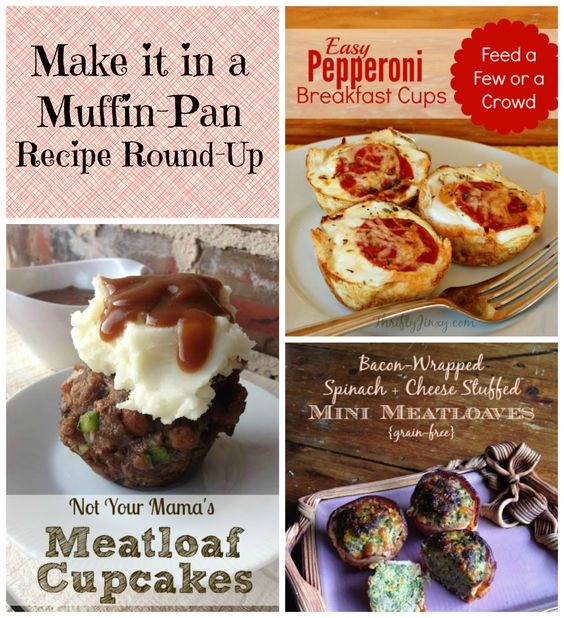 Think outside of the muffin pan with these awesome recipes! My favorite thing about making muffin shaped food is that exponentially increases the child-friendliness of the meal! Even the pickiest t…