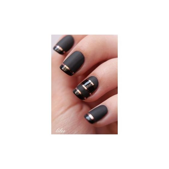 Latest 80 Simple Nail Art Designs for Short Nails 2015 ❤ liked on Polyvore featuring beauty products, nail care and nail treatments