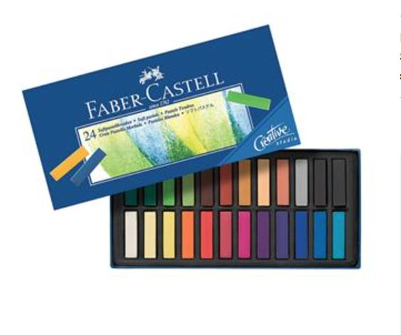 Faber-Castell Creative Studio Soft Pastel Set