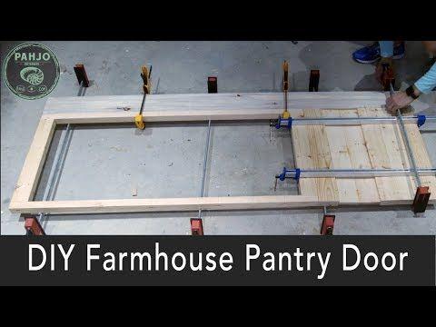 Farmhouse Pantry Door With Gl