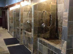 Liking the setup though id only have 2 tubs the walk in for liking the setup though id only have 2 tubs the walk in for large and the medium for smaller breeds grooming salon pinterest tubs dog and solutioingenieria Images