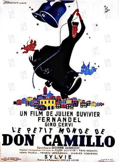 """""""Le Petit Monde de Don Camillo"""", 1952 de Julien Duvivier"""