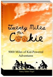 True story of a family that biked around the country.