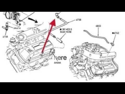 97 4.2L F150 rough idle problem - YouTube   F150, Diagram, Ford f150   Ford F150 V6 Engine Diagram      Pinterest