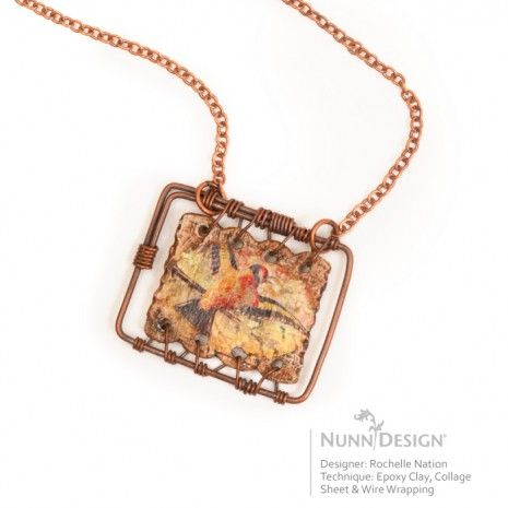 2012 Innovation Team Member, Rochelle Nation, created this great tutorial for Jewelry Making Daily using the Nunn Design Collage Sheets and Crystal Clay.