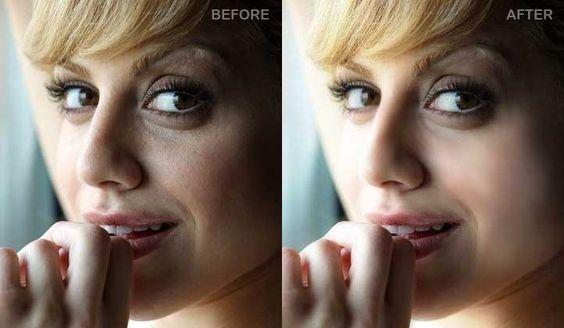 Duas maneiras simples de retocar suas imagens.