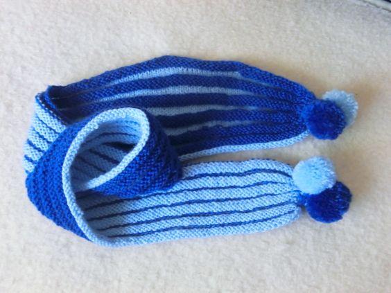 Wurm-Schal für meinen Simon. - Galerie -