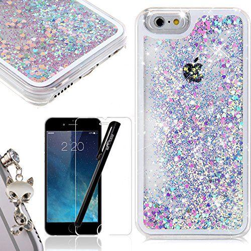 Coque iPhone 6 WE LOVE CASE Coque iPhone 6S Paillettes Fluide ...