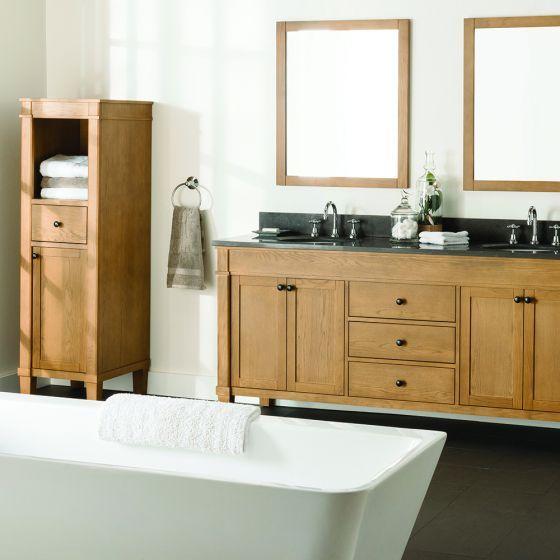 Maison Single Vanity 1245mm Bathroom Weathered Oak Vanity