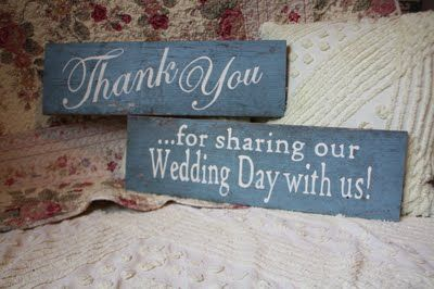 Thank you ...for sharing our Wdding Day with Us!         by EverydayCookies