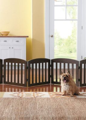 Freestanding Wooden Pet Gate The O Jays Pet Gate And Pets