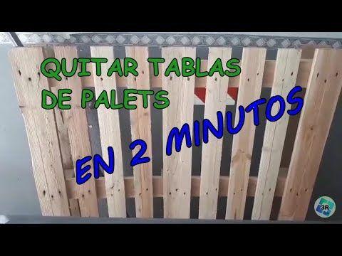 No Pierdas Tiempo Desmontando Palet Ideas Con Palets Como Soltar Tablas Del Palet Youtube Las Tablas Make It Yourself Novelty Sign