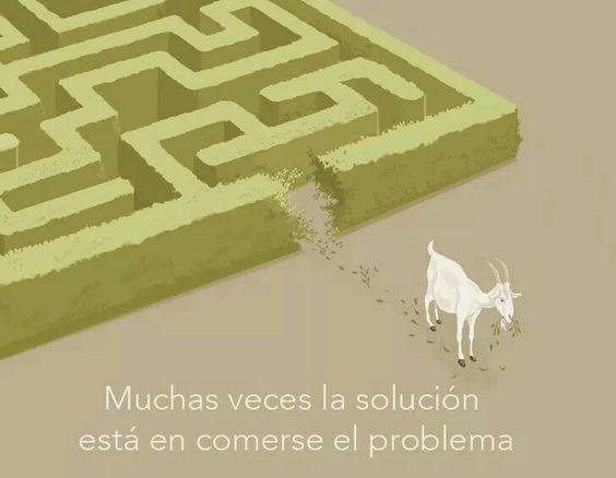 Muchas veces la solución está