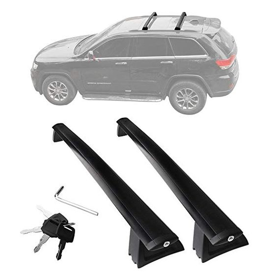 Yitamotor Jeep Grand Cherokee Roof Rack Cross Bars With Locks 2011