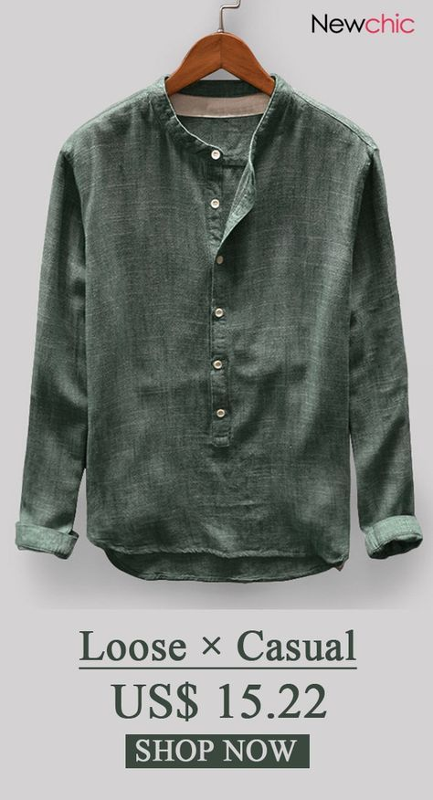Mens Vintage Cotton Shirt