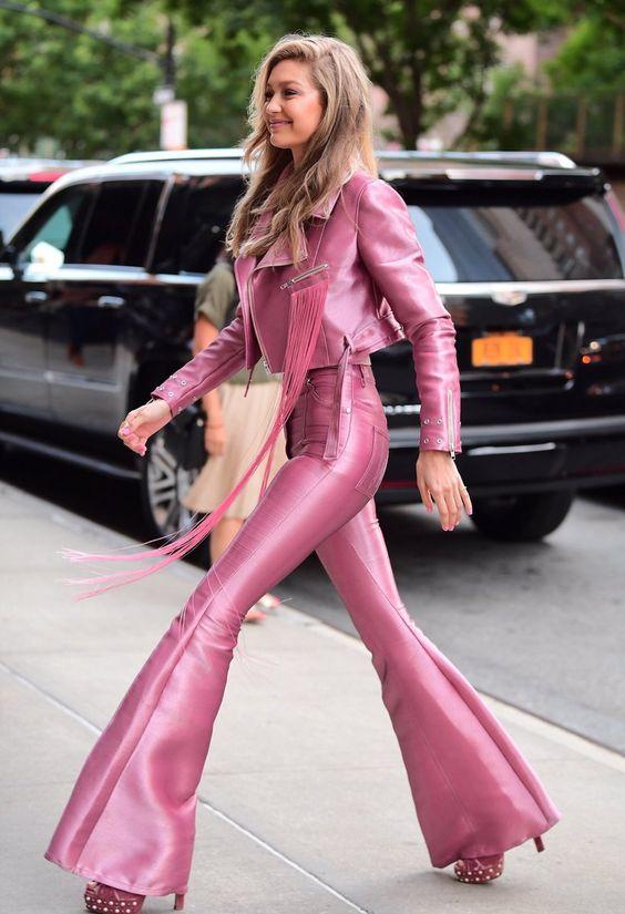 """Gigi Hadid arriving to her Vogue Eyewear Launch in New York City 6.27.17 """