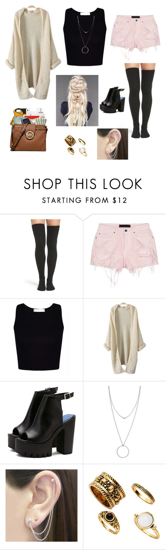 """Untitled #244"" by voluntears ❤ liked on Polyvore featuring Peony & Moss, Alexander Wang, Botkier and Otis Jaxon"